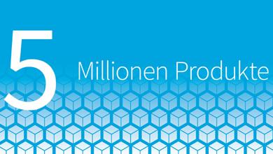 5 Millionen Produkte